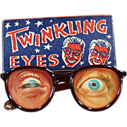 Old, Twinkling Eyes - Flicker Eyeglasses with Original Box