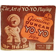 Old Booklet The Art of Yo-Yo Playing - 1950