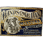 Old Tobacco Tin -  L.L. Stoddard Handsome Dan