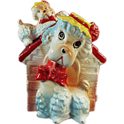 """Old """"Piggy"""" Bank - Poodles in the Dog House"""