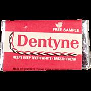 "Old "" Free Sample"" - Dentyne Gum Tab"