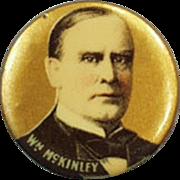 Old, Celluloid Pinback - President William McKinley