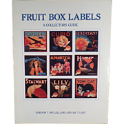 Old Reference Book- Fruit Box Labels