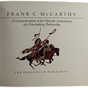 Old Paperback Book - the Work of Frank C. McCarthy