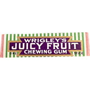 Old Stick of Chewing Gum - Wrigley's, Juicy Fruit
