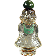 Old Perfume Bottle - Figural, Little Girl