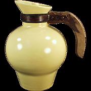 Old, Arcadia Carafe with Original Lid - Gladding McBean Pottery