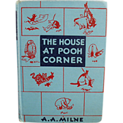 The House at Pooh Corner - Old, Winnie the Pooh Book