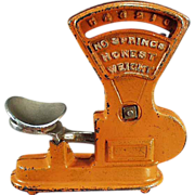 Old, Cast Iron Toy - Miniature, Toledo Scale
