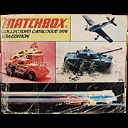 Matchbox Collectors Catalogue - 1974 Identification List