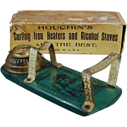 Old, Houchin's Curling Iron Heater with Original Box - The Princess No. 1212