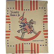 Children's Old Stationery - Yankee Doodle with Great Patriotic Graphics