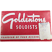 Vintage, Goldentone Soloists Phonograph Needles - Package of 50