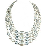 Old Bead Necklace - Multi-Strand & Very Pretty