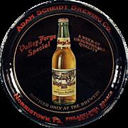 Old Tip Tray - Valley Forge Beer, Adam Scheidt Advertising