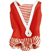 Old, One Piece Sun Suit for Mattel's Skipper Doll