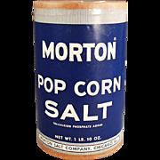 "Old, Morton ""Pop Corn Salt"" Box"