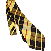 Boy's, Old Tie Colorful Plaid from J.C. Penney