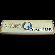 Old, Metal Pencil Box - Mars Staedtler