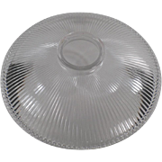 Old, Holophane Light Shade - Shallow, Reflector Style