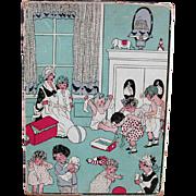 Old, Children's Hosiery Box - Fun, Nursery Room Graphics