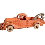 Old, C.I. Hubley, Tow Truck Wrecker