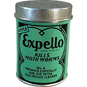 Old, Expello Sample Tin - Nice, Electrolux Vacuum Cleaner Graphics