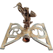 "Old, Western Brass Works ""Rain Trol"" Lawn Sprinkler"