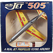 Old, Toy Airplane - Mini Jet with Original Box