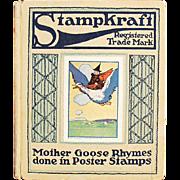 Old Stampkraft Book- 1914 Mother Goose Rhymes - Series 1