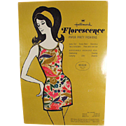 Old, Paper Party Fashion Jump Suit in Original Packaging from Hallmark