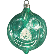 Old, Blown Glass, Halloween J-O-L Christmas Ornament