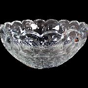 Vintage Heisey - Provincial Pattern Serving Bowl