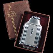 "Vintage, Ronson ""Mastercase"" Cigarette Case/Lighter with Original Box"