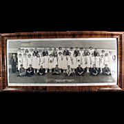 Vintage, Framed Photograph - 1924, Horrace Mann's Graduating Class - Kansas City