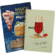 Vintage Recipe Booklets - Jell-O and Whip 'n Chill