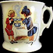 Vintage, Buster Brown and Mary Jane, Shaving Mug
