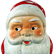 Vintage, German Candy Container - Santa Claus
