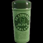 Vintage, Dr. Edwards Laxative Tin