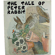 Child's Old Booklet - The Tale of Peter Rabbit