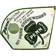 Vintage, Advertising Pot Scraper - Mt. Penn Stoves