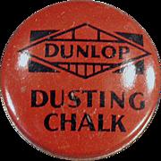 Vintage, Dunlop Dusting Chalk, Tin