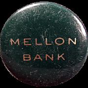 Vintage Celluloid, Advertising Tape Measure - Mellon Bank