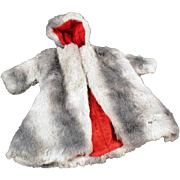 Vintage, Faux Mink Coat for Teen Fashion Doll