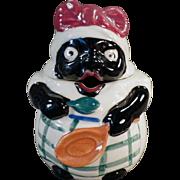 Vintage Black Memorabilia - Mammy Mustard or Jelly Jar