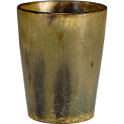 Scottish or English Horn Beaker or Cup - Mantiques