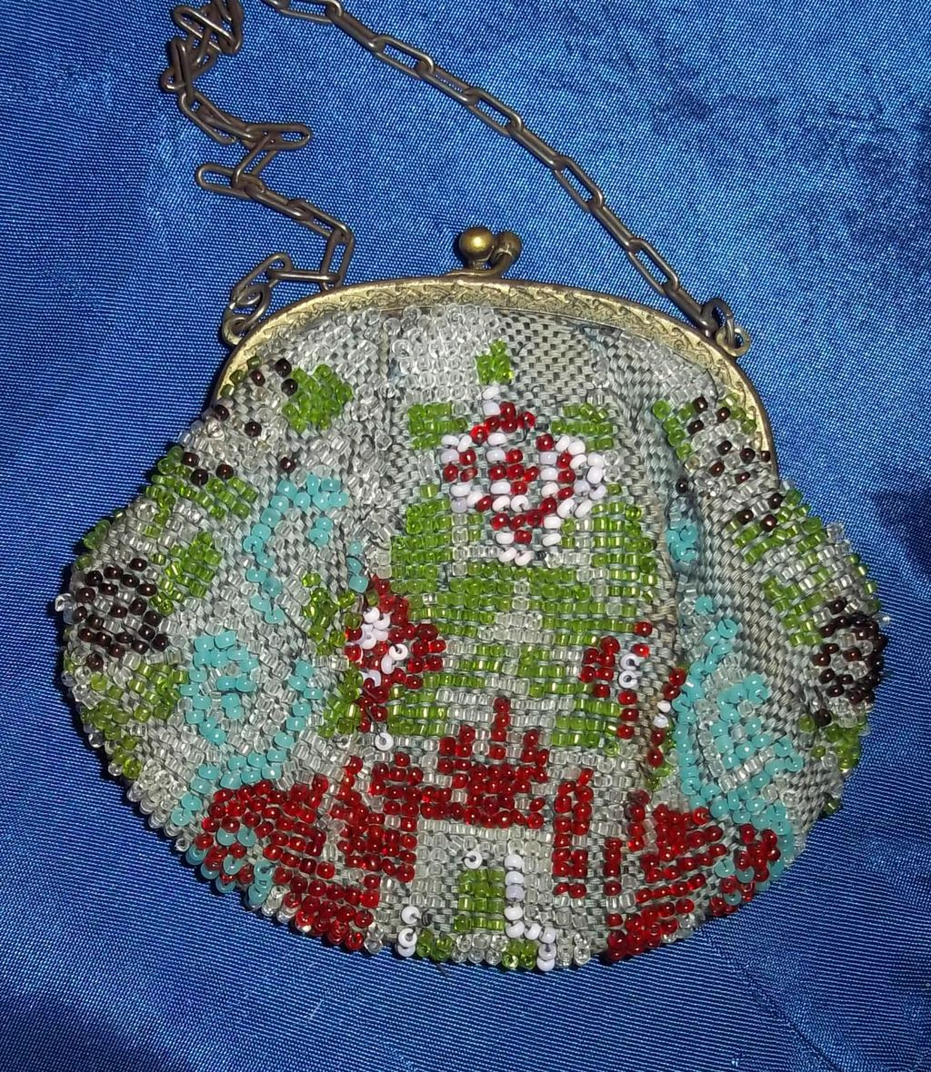 Beaded Bag from The 1900's suitable for a Doll