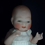 """6"""" Bisque Bye-lo with Tummy Sticker, Sleep Eyes, Jointed Neck"""