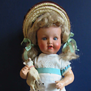 Painted Bisque Toddler by Armand Marseille