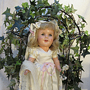 Composition 1940s Bride Doll